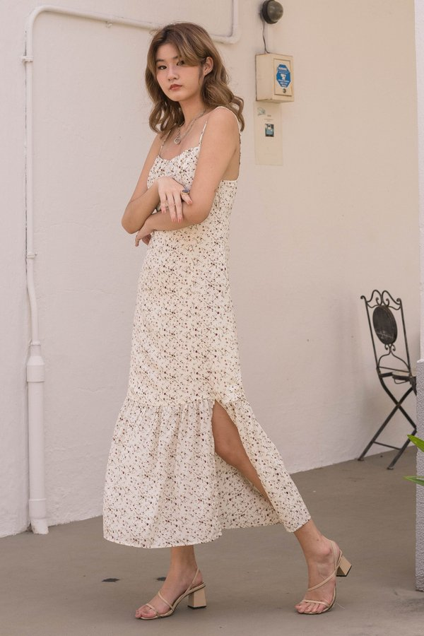 At First Glance Maxi in Cream Floral