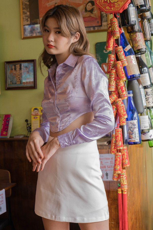 Oriental Shirt in French Lilac