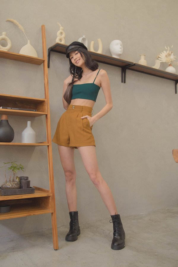 Crossbreed Shorts in Golden Brown
