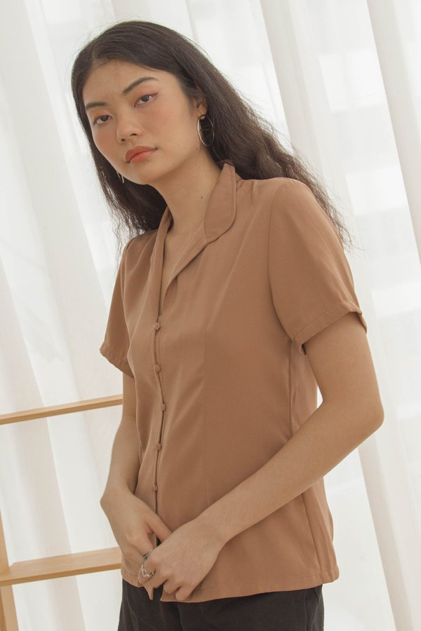 Front Line Shirt in Fallow Brown