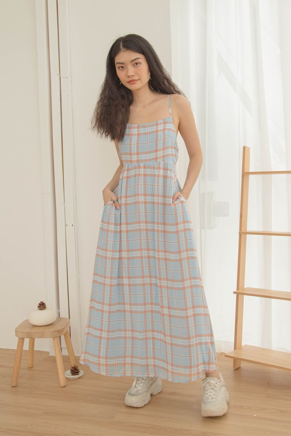 Clueless Maxi in Blue Orange