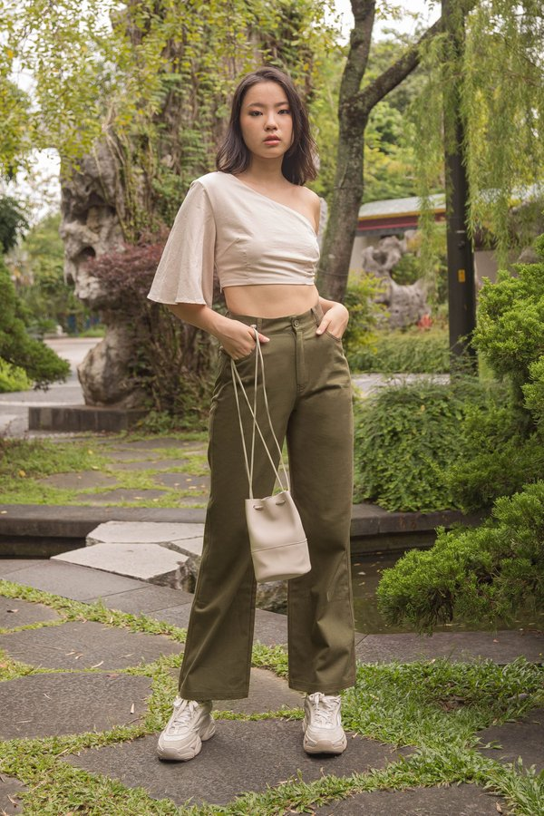 In My Element Pants in Army Green