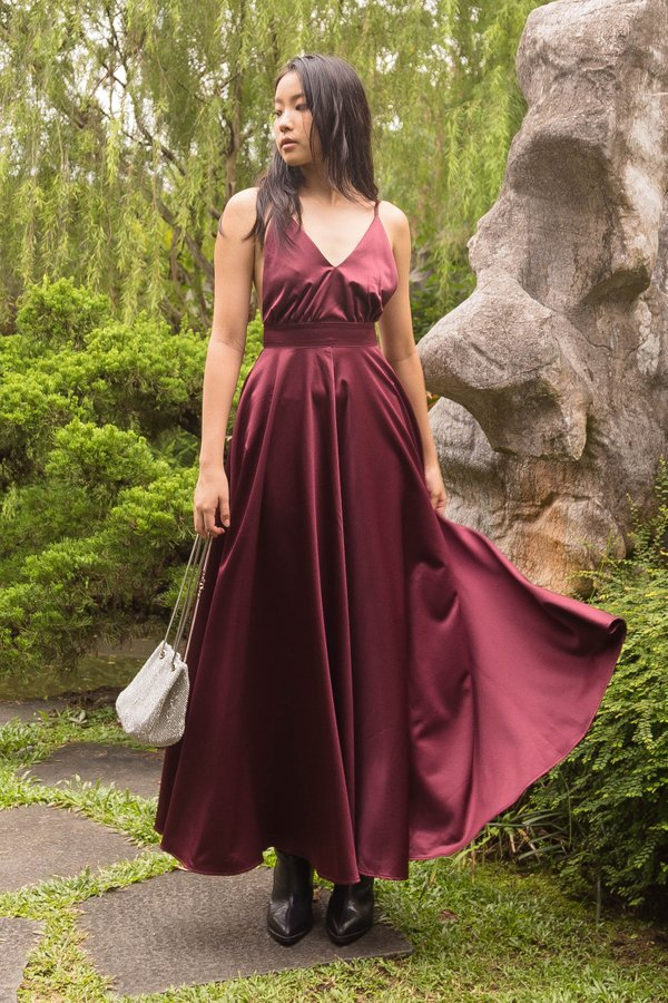 Moonlight Maxi in Merlot