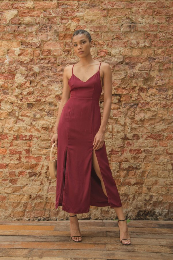 Back End Maxi in Falu Red