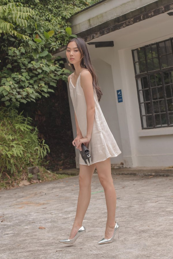 After Party Dress in Champagne