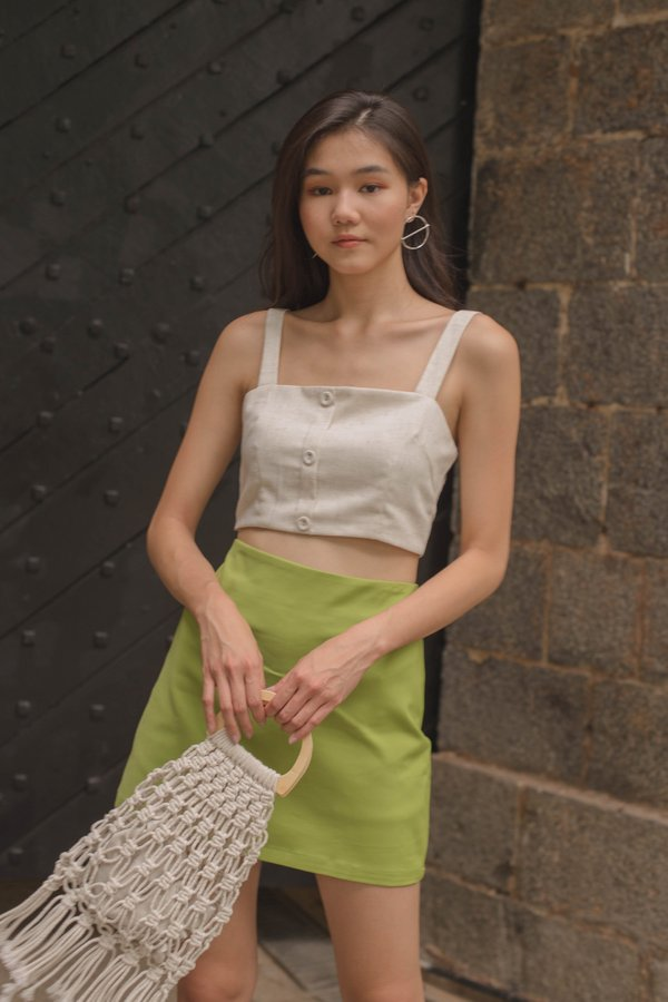 Every Day Bralet in Ivory