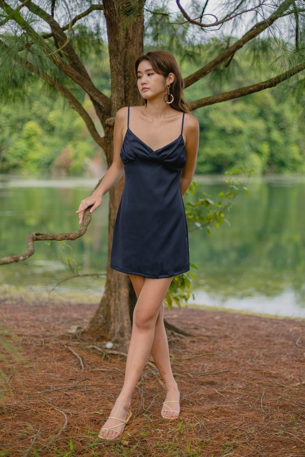 Uptown Dress in Eclipse Blue