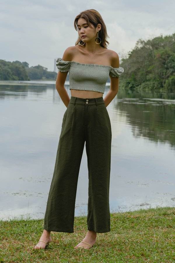 Duplicate Pants in Dark Olive