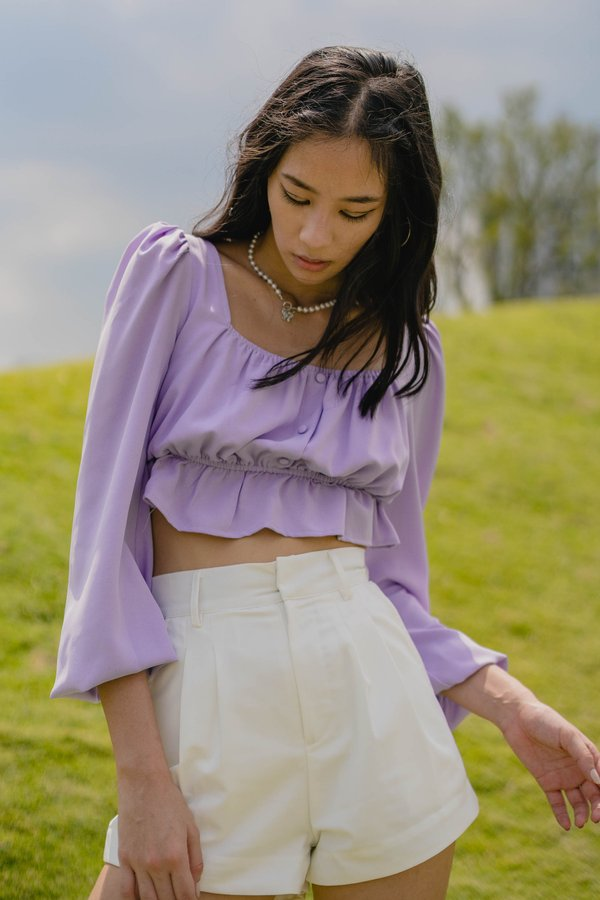 Fairytale Top in Pale Lavender