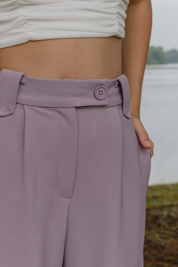 Vocational Pants in Mauve