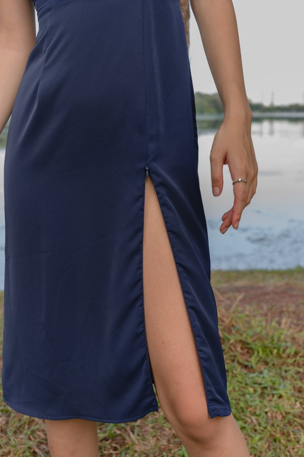 Afterglow Midi in Navy