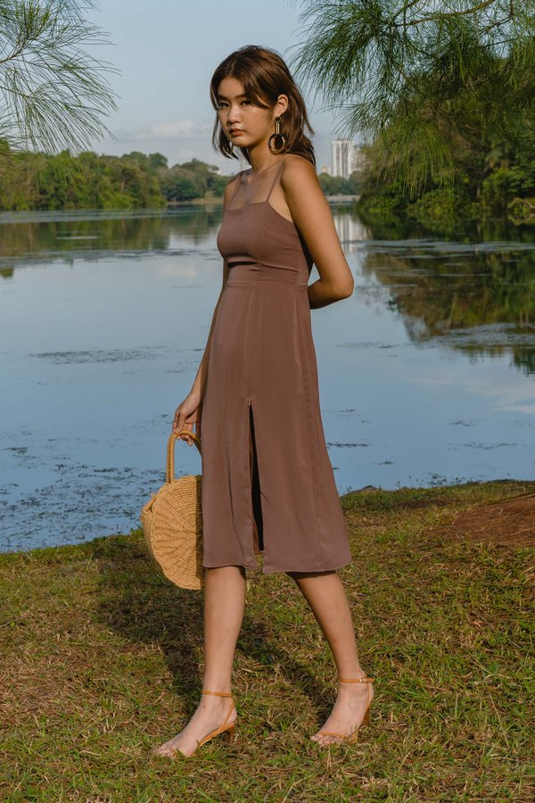 Afterglow Midi in Rocky Brown