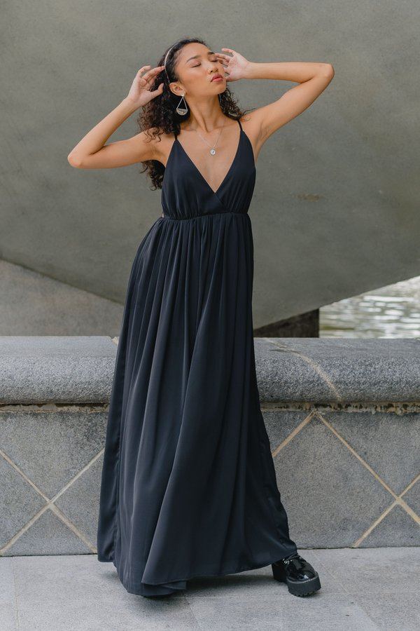 Once Upon A Maxi in Black