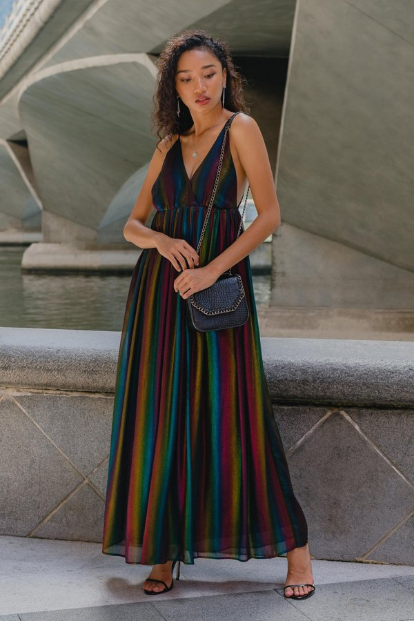 Once Upon A Maxi in Dark Rainbow